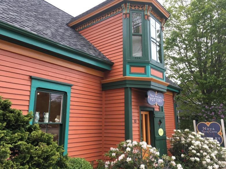 Joan Bruneau Studio Potter Lunenburg Nova Scotia